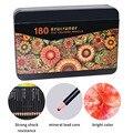Brutfuner 72/120/180 Цвет поверхность специальное масло для Цвет карандаши Оловянная коробка набор дерева эскизов Цвет ed карандаш для школы товары д...
