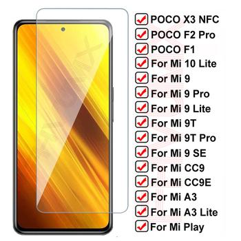 11D szkło ochronne dla Xiaomi Poco X3 NFC F1 F2 Pro hartowane zabezpieczenie ekranu dla Mi 10 Lite Mi9 9 SE 9T CC9 CC9E A3 Lite Film tanie i dobre opinie FHVUMX CN (pochodzenie) Folia na przód Poco F2 Pro Mi9 przejrzyste Mi 9 SE Mi A3 Mi 9T 9T Pro Mi 9 Lite Pocophone F1 Bez obsługi BD