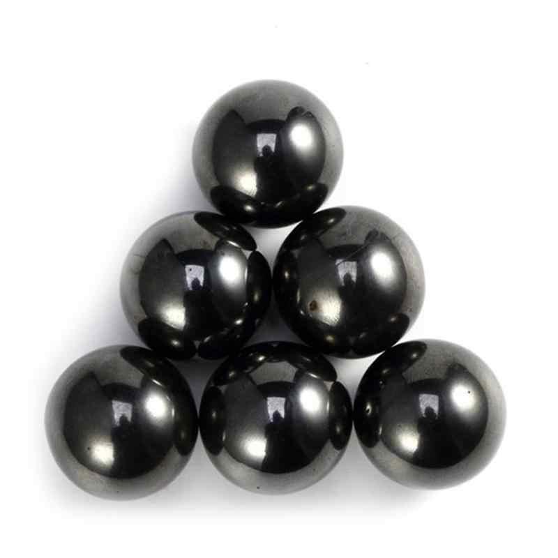1pcs מגנטי דיסק שחור כדור Diy מגנטי אבני בניין פלדה כדורי מגנט צעצועים חינוכיים לילדים מבוגרים מגנט צעצועים