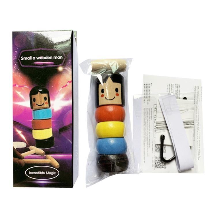 Новый неподвижный стакан, Магическая упрямая деревянная игрушка для мужчин, забавная небьющаяся игрушка, волшебные трюки, магические игруш...