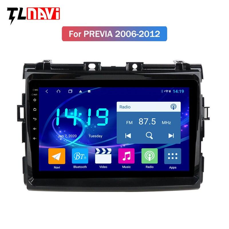 4G+64G Car Radio for Toyota Estima/PREVIA/Tarago/Canarado 2006-2012 Multimedia stereo System head unit Android 9
