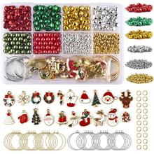 Pendants Charms Christmas-Jewelry-Making-Kits DIY for Earring Xmas-Gifts-Accessories
