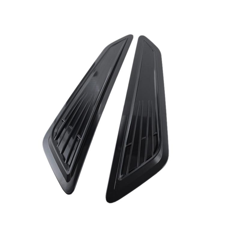2Pcs for Chevy Camaro 1LT/ LS /RS 2016 2018 Front Hood Air Intake Decorative Trim Hood Scoop Bonnet Vent Decor Covers|Valve Covers| |  - title=