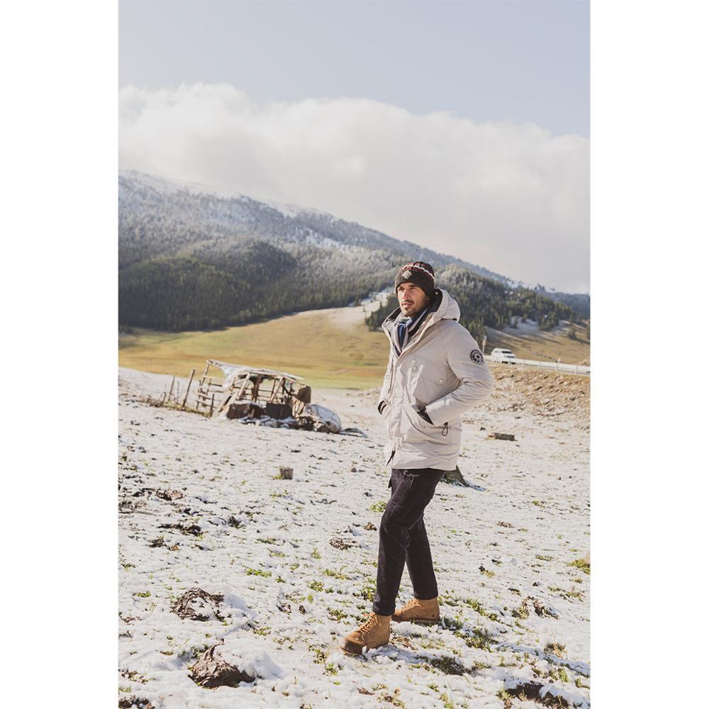 SIMWOOD 2019 hiver nouveau 90% blanc canard vers le bas manteaux hommes multi poches à capuche chaud vestes de haute qualité grande taille manteaux SI980618 - 3