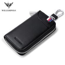 Чехол для ключей williampolo мужчин многофункциональный кошелек