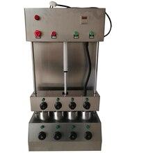 Новое поступление 4 головки пиццы конус набор автоматический/коммерческий производитель пиццы и печь для пиццы на продажу