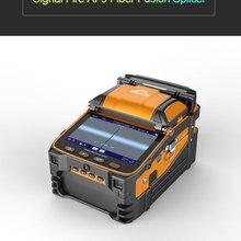 Сигнальный Огонь 5 дюймов TFT экран AI-9 аппарат для сварки волокон FTTH проект 6 моторов оптический измеритель мощности VFL