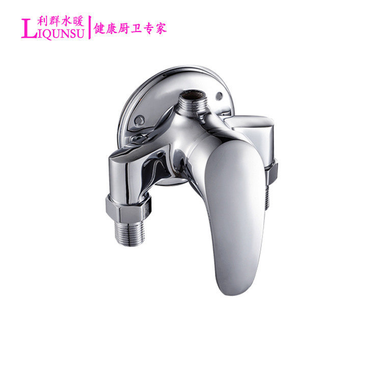 Copper Triangle Shower Faucet Surface Mounted Shower Faucet Mixing Valve Faucet Hot And Cold Faucet Shower Switch