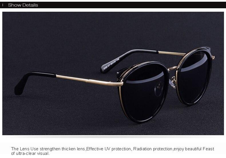 sol senhoras moda polarizado óculos de sol
