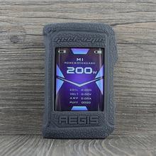 Coque en silicone de protection pour Geekvape Aegis X 200W vape couverture en caoutchouc peau chaîne autocollant manchon coque coque amortisseur gel aegisx