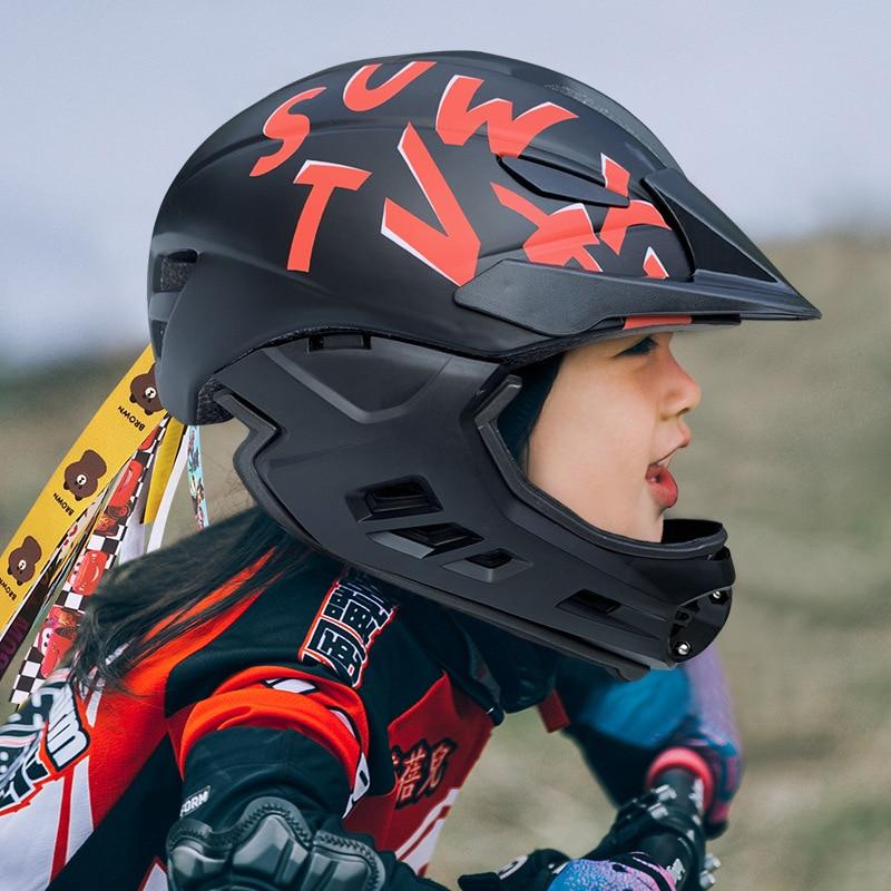 KIDS Bike Helmets Skating Balance Bike Safety Helmets Children Full Face Helmets