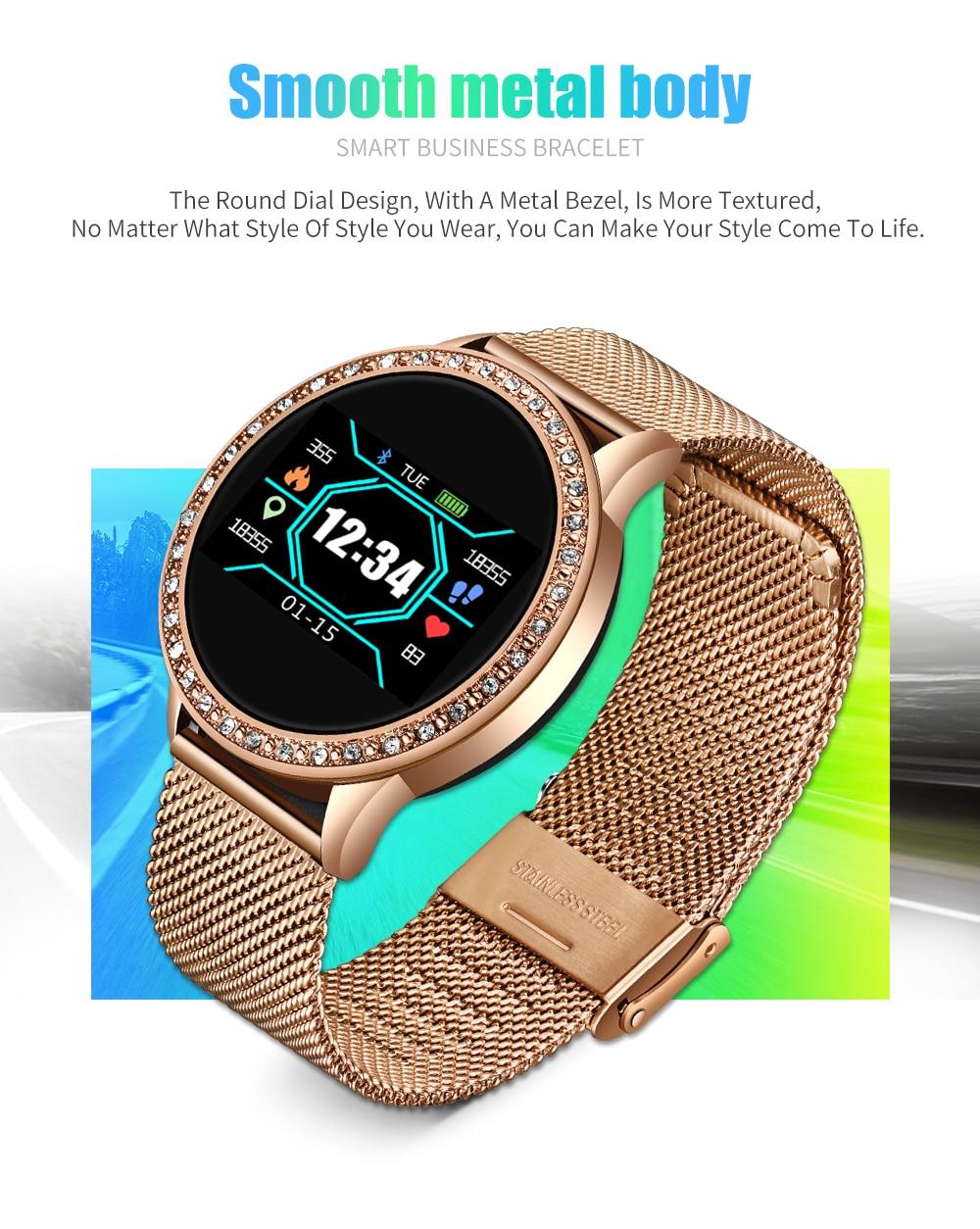 H0c07a06ca48844ca86a25bd019eb1625G LIGE 2020 New Smart Watch Women Men Heart Rate Blood Pressure Sport Multi-function Watch fitness tracker Fashion smartwatch+Box