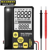 Multímetro digital maxrieny adms7 multifunction voltímetro tensão resistência frequência ohm nvc continuidade tester multimetro|Multímetros| |  -