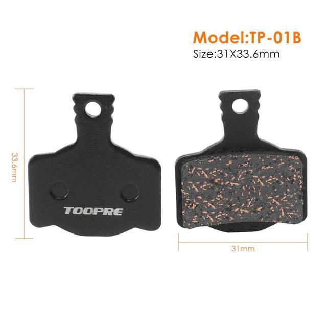 1 Pair MTB Mountain Bike Metal Disc Brake Pads Tool for Shimano M446 355 395 BB5