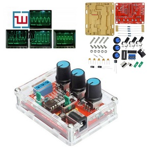 Function Signal Generator DIY Kit /Triangle/Square Output 1Hz-1MHz Signal Generator Adjustable Frequency Amplitude XR2206