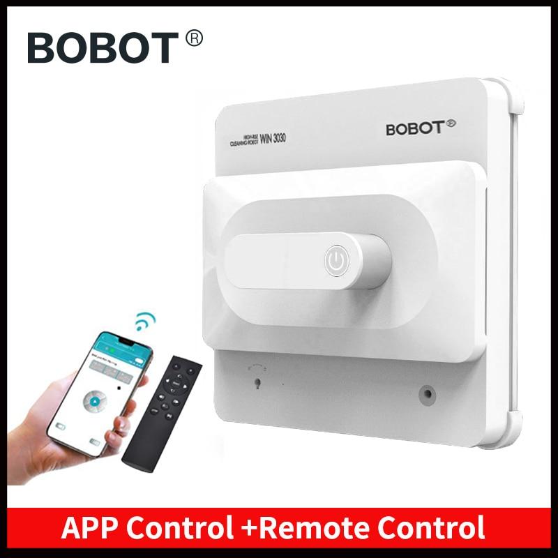 BOBOT Janela Robô De Limpeza Aspirador de pó Automático de Limpeza Anti-queda Caminho Planejado Varrendo Robô Limpador de Janelas