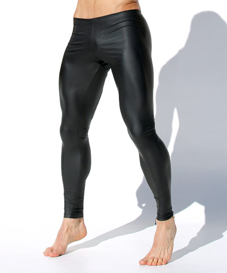Men's sexy low-waisted tights, tights,