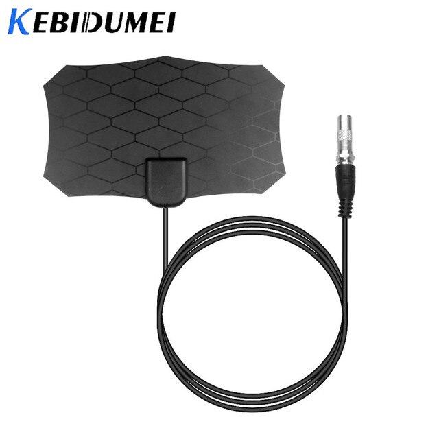 Kebidumei 80 mil antena telewizja cyfrowa 25DB antena HDTV wzmacniacz sygnału wewnętrzna DVB-T2 antena satelitarna antena telewizyjna