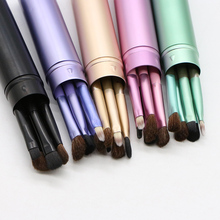 цены 5pcs Makeup Brushes Set Eye Shadow Blending Eyeliner Eyelash Eyebrow Brushes Cosmetics Beauty Tools Eye Make Up Brush