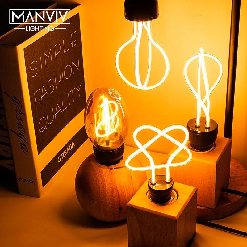 Retro Edison Lamp LED Light Bulb E27 25W 40W 60W 230V LED Incandescent Lamp Pendant Lamp Industrial Decor Vintage Filament Bulb