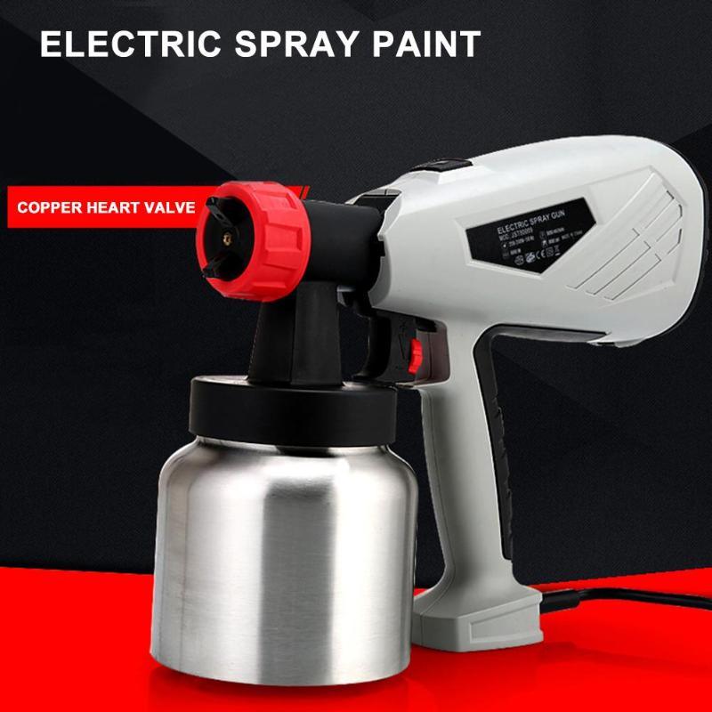 Pulvérisateur détachable de peinture de chocolat de gâteau de pistolet de jet électrique à haute tension avec le contrôle réglable de débit