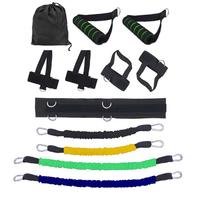 Resistance Bands Stretching Strap Set for Leg Waist Bouncing Training Tools 35LBS 40LBS Fitness Body Building Equipments