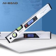 Digital Protractor Inclinometer Angle Gauge Finder electronic Level Horizontal Ruler slope test Ruler DIY tools 400mm