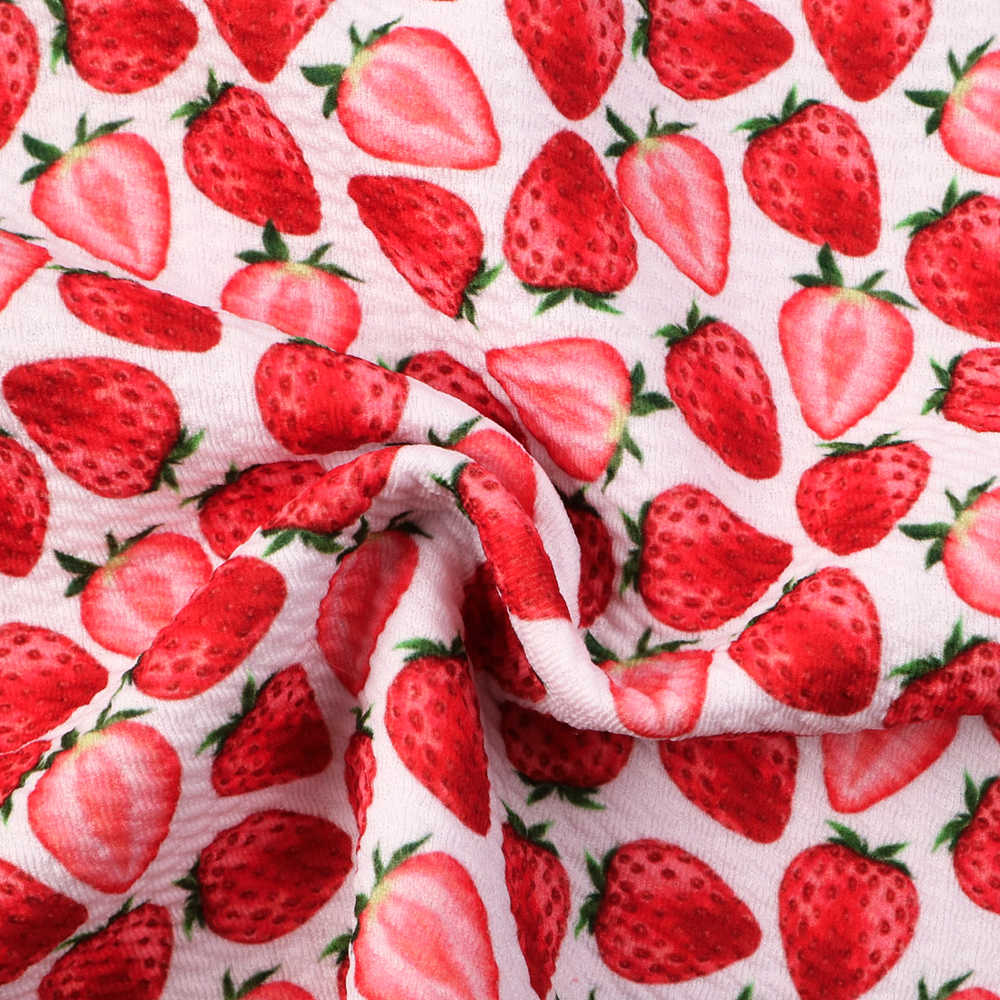 50*140cm Fruit Printed Bullet Textured Liverpool Fabric for Tissue Kid home textile Patchwork Sewing Quilting Material,c10414