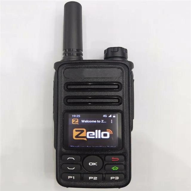 Camoro OEM SIM Mini Zello Walkie Talkie 4G with Wifi Gps Bluetooth Large Battery Zello POC Radio Android Portable Walkie-talkies