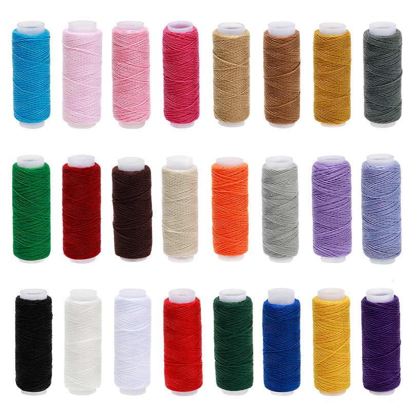 1-39 قطعة 200 ساحات الخياطة موضوع خيوط بوليستر التطريز مجموعة قوي ودائم خيوط الإبرة ل اليد آلات