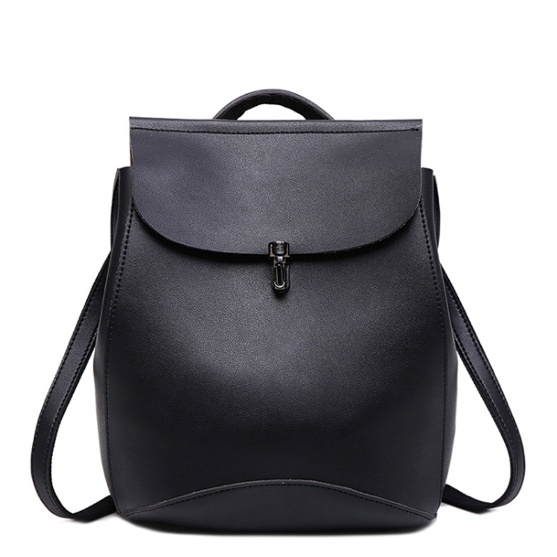 New Fashion Women Backpacks Shoulder Bag High Quality PU Leather Korean Style Female Backpack Teenagers Student School Bags