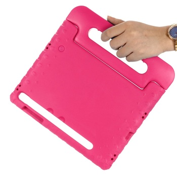 For Samsung Galaxy Tab S6 10.5 2019 Case Kids SM-T860 T865 Shockproof EVA Full Body Cover Handle Stand Case Children Safe Fundas kinston full body cover case for samsung galaxy s6 edge