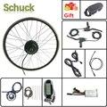 Schuck Электрический велосипед E велосипед конверсионный комплект Передняя Ступица Мотор колеса 24V 250W с KT LCD6 дисплей 16-28 дюймов 700C Ebike комплект