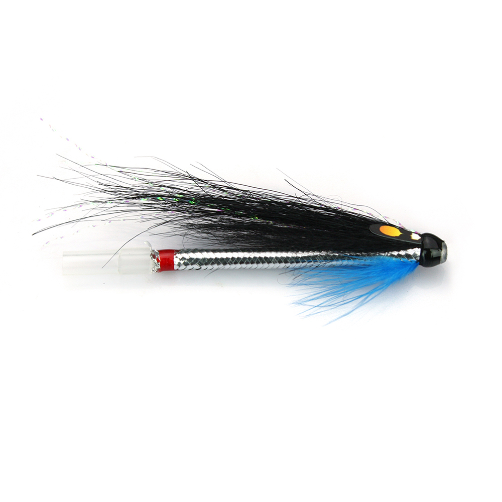 10,12 3 Black or Red Francis Double//Trebles Hook Salmon//Sea Trout Flies Sizes 8
