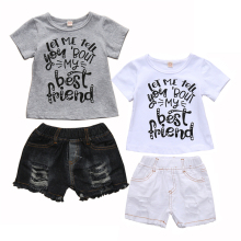 1-6Y Big Brother&Little Sister Matching Outfits White Girls Sets Clothing Grey Boys Babygirl Clothes Kid Summer clothes
