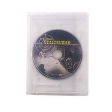 10 pièces universel boîte transparente jeu carte cartouche CD DVD étui de protection pour N64/S N E S/sega Genesis/Mega Drive