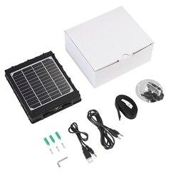 Panel słoneczny ładowarka słoneczna dla 4G kamera myśliwska