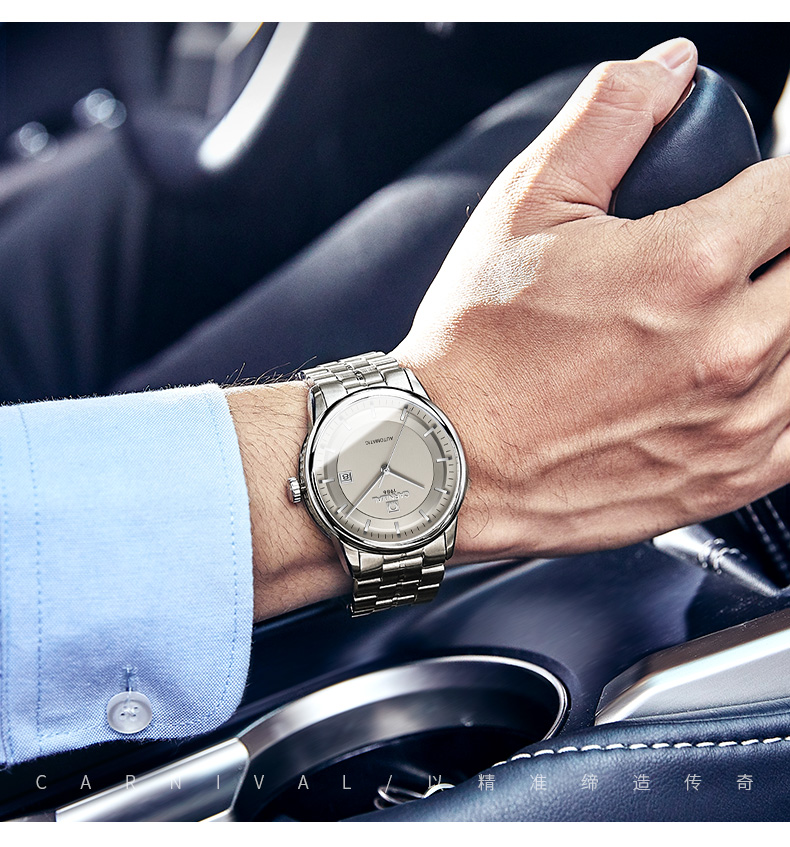 Relógios mecânicos automáticos dos homens miyota relogio