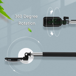 Image 5 - Roreta Portable Wireless Selfie Stick Bluetooth Remote Control Expandable Handheld Monopod Tripod With Mirror For Android IOS
