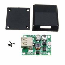 DIY 5V 2A Voltage Regulator Junction Box Solar Panel Charger Special Kit Module For Electro