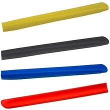 1 пара лезвий стеклоочистителя орнамент красный синий желтый