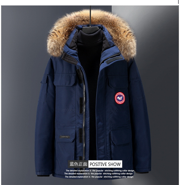 2018 Thick Coat Couples down Jacket New Products Men Short Canada-Style Outdoor Workwear