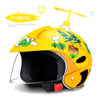 Ahp bonito criança capacetes da motocicleta moto scooter crianças bebê capacete safty moto bicicleta capacetes