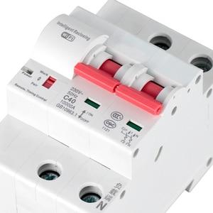 Image 5 - Интеллектуальный автоматический выключатель eWeLink, Wi Fi, 2P, с защитой от перегрузки, работает с Amazon Alexa Google home