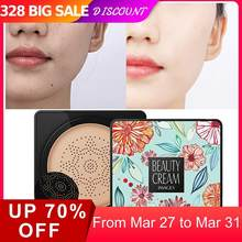 BB Air Cushion Foundation Korean Mushroom Head CC Cream Concealer Whitening Makeup Cosmetic Waterproof Brighten Face Base Tone M(China)