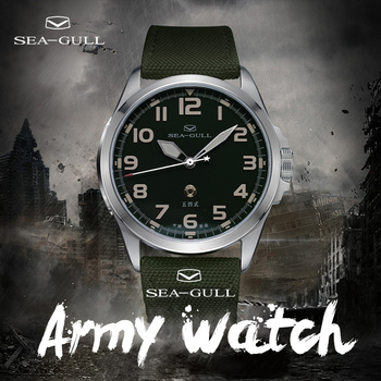 Seagull Army Watch Men's Automatic Mechanical Watch Sports Watch 100M Waterproof Army One Limited Commemorative Watch 6106 1