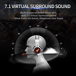 Image 3 - Somic G941 GamerหูฟังUSB 7.1เสียงเซอร์ราวด์เสมือนจริงชุดหูฟังสำหรับเล่นเกมหูฟังพร้อมไมโครโฟนสเตอริโอBassสำหรับPC