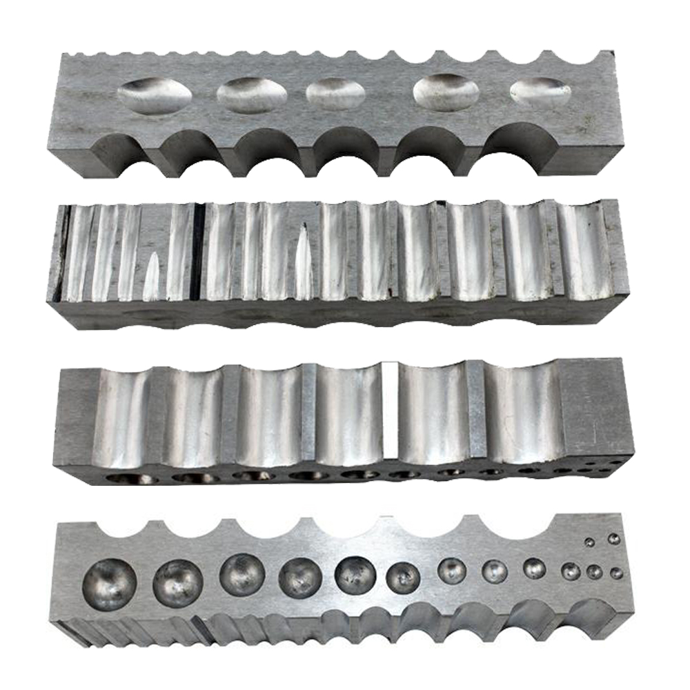 Jewelry Bending & Shaping Tool Steel Block Design Forming Block Dapping Jewelry Tools
