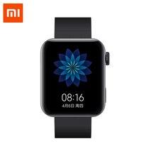 Xiao mi inteligentny mi zegarek GPS NFC WIFI ESIM telefon bransoletka Android zegarek Sport Bluetooth Fitness pulsometr utwór