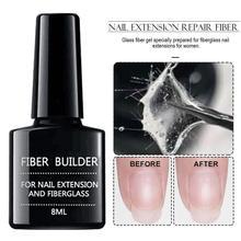 8 Ml Nail Extension Nailfiber Fiberglass Gel Nail Acrylic Ti